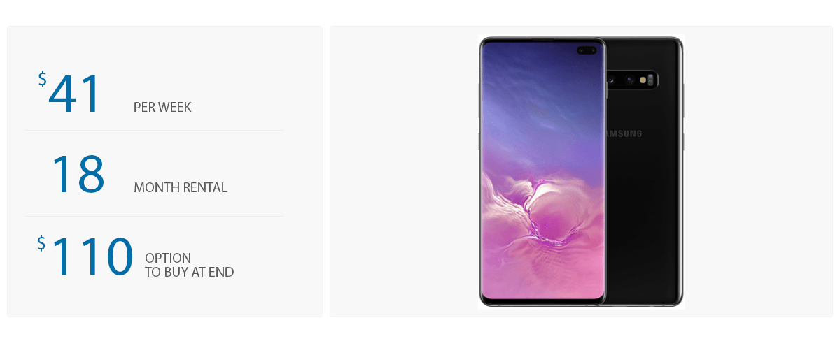 Samsung S10+ - Pricing Template